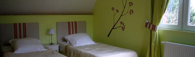 La chambre verte du potager