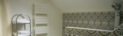 La salle de bains du potager