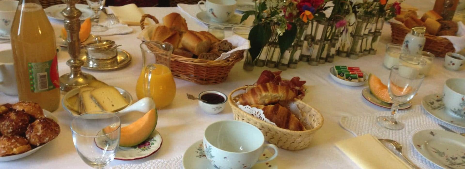 Dégustez un petit déjeuner gourmand